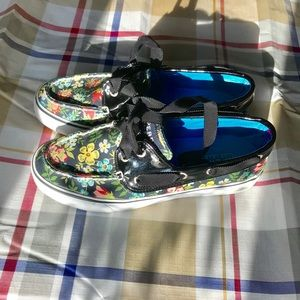 Sperry Top-sider Unique Women size 5 floral shoe